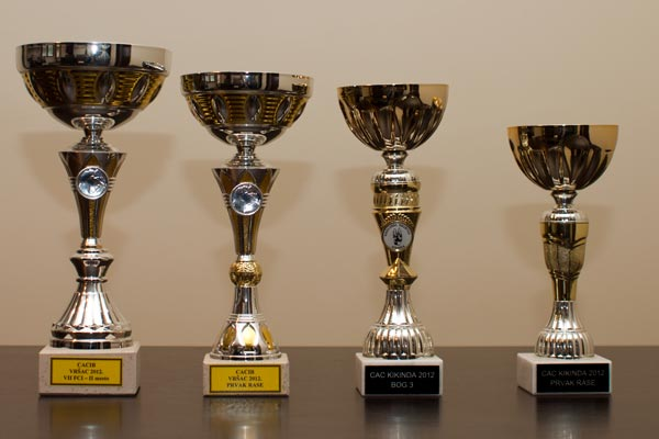 gold cups won by Bruno